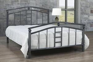 Grey Metalic Queen Bed web exclusive deal (IF685)