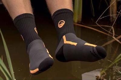 Guru Black Waterproof Socks / Coarse Fishing Clothing