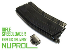 Nuprol Ultra Durable XL Extra Large Speed Loader 470 RND BB Airsoft Speedloader