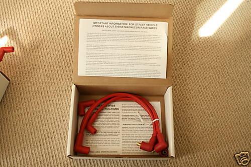 Magnecor Racing 8.5mm Racing Spark Plug Wire Set Mazda Rx8 2003-2011 13b Se3p
