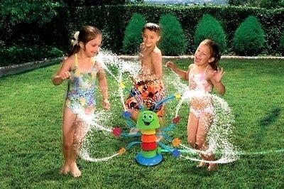 BANZAI KIDS SILLY WIGGLIN WATERPILLAR DANCING CATERPILLAR SPRINKLER EASTER GIFT
