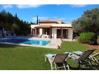 Villa in Spain Portugal Italy Greece Cyprus France Croatia Florida turkey Albania Cuba Dubai