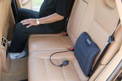 SITBACK AIR Lordosenstütze Autositz-Kissen Stütze Wirbelsäule Rückenstütze