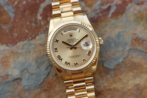 I'm looking to purchase a new or used Rolex Day-Date 118238