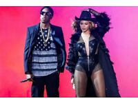2 BEYONCE AND JAY Z TICKETS FOR LONDON STADIUM 15TH JUNE 2018