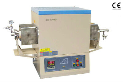 New 1700c Vacuum And Atmosphere Tube Furnace 80mm With Complete Accessory