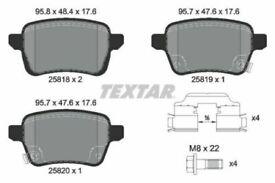 Textar Brake Pad Set, disc brake 2581802 77367914