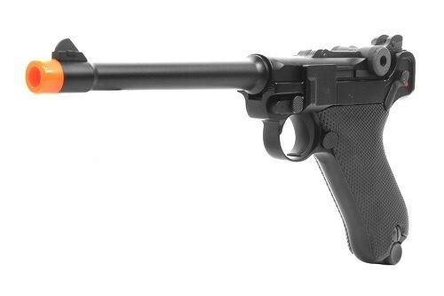 WE Full Metal Airsoft Luger P08 Airsoft Gun