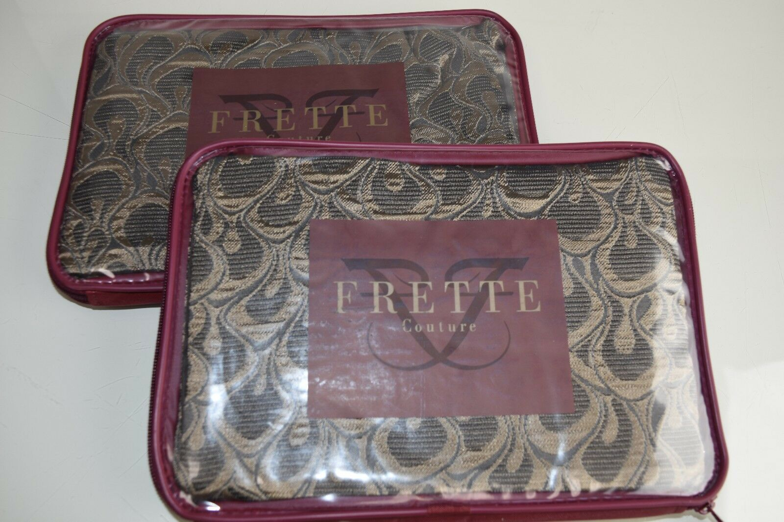 $590 NEW FRETTE Luxury Utopia Private Escape Set of 2 EURO S