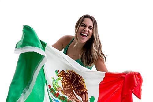 Mexico Flag Bandera De Mexico Mexican Flag 3×5 Body Flag Cape Strong Quality Flags