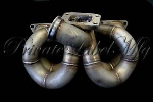 plm T3 RAMHORN turbo manifold (B-Series) AC & PS COMPATABLE
