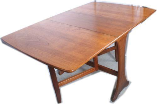 drop leaf dining table ebay. Black Bedroom Furniture Sets. Home Design Ideas