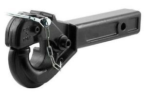 Pintle Hitch and Cast Aluminum Variable Height Hitch (new)