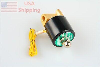 12v Dc Electric Solenoid Valve Diesel Gas Water Air 2w-025-06 Nc G18