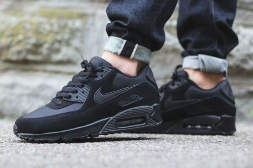 e2a1381fae Nike air max 90 uk size 10 triple Black | in Ladbroke Grove, London ...