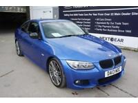 2013 BMW 3 SERIES 320D M SPORT + ESTORIL BLUE + JUST ARRIVED INTO STOCK + COUPE