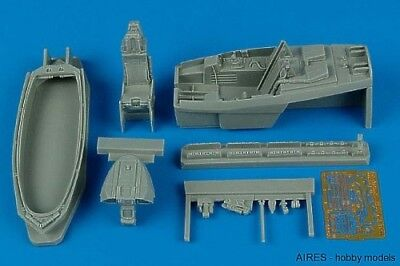 Aires 1/48 F-22A Raptor cockpit set for Academy kit 4410