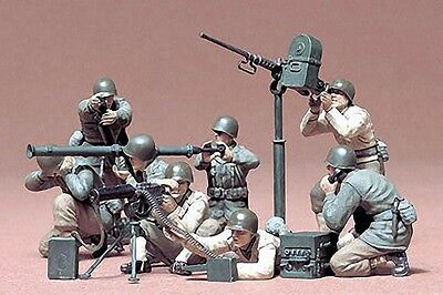 Tamiya America [TAM] 1:35 US Gun & Mortar Team Plastic Model Kit 35086 TAM35086