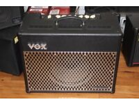 Vox VT50 modelling amplifier and Vox VFS5 footswitch