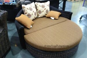 Andersen & Stokke Lucia Woven Day Bed Outdoor Wicker Furniture