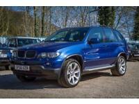 BMW X5 3.0D AUTO 56 REG LE MANS BLUE SPORT EDITION ** FULL SERVICE HISTORY **