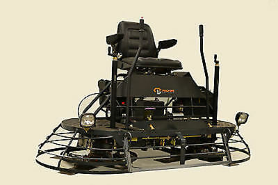 Packer Brothers 72 Twin 36  Ride On Power Trowel Concrete Cement