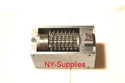 3mm Steel Letterpress Numbering Machine 7 Digits For Heidelberg Windmill Press.