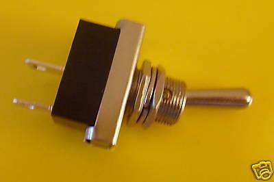 ON/OFF Metal Toggle Flick Switch 12v car dash light 12 volt lucar  terminals 24v