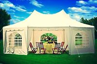 CLEARANCE on Party Tents-FREE shipping to major Canadian cities!