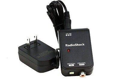 Radioshack Toslink To Digital Coax Converter 1500059