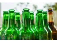 EMPTY BEER BOTTLES FOR HOME BREWING