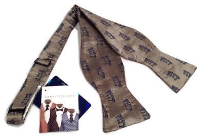 Pitt Panthers Sports - Pitt Panthers Men's Silk Bow Tie Pittsburgh Self Tie NCAA College Sports New
