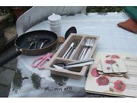 Cutlery - mats- & equipment