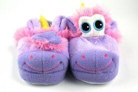 Stompeez unicorn slippers size 13