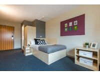 Ensuite room available at Concept Place, student accommodation, Leeds.