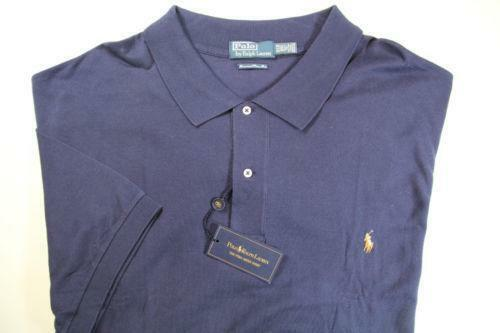 Mens 6x polo shirts ebay for 6xl ralph lauren polo shirts