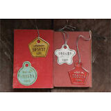 Vintage Metal Tags Vintage Reproduction Assorted Lot Set of 4