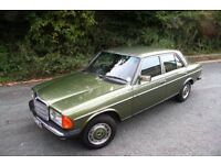 Mercedes W123 Chrome Wheel Arch arches E class saloon estate