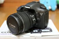 Canon EOS 7D + EFS 15-85mm Lens mint in box