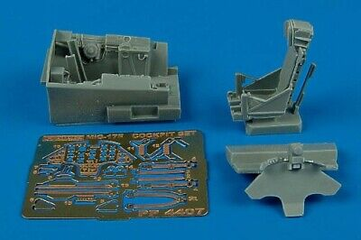 Aires 1/48 MiG-17F cockpit set for Hobby Boss kit 4407