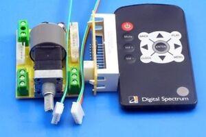 ALPS Remote Motor Volume Potentiometer Control Adjustment 4CH 50KA led  display