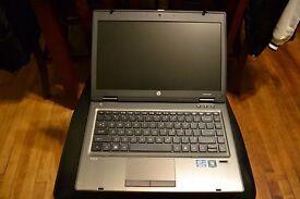 HP Probook 6460b laptop Intel 2.1ghz x4 Core i3 - 2nd gen processor 120gb SSD hard drive