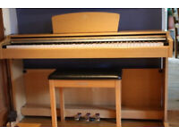 Yamaha Arius YDP-140c digital piano in cherry wood, weighted keys, 3 pedals