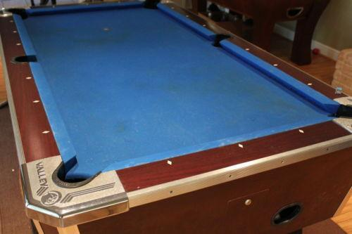 Coin Operated Pool Table EBay - How much is my pool table worth