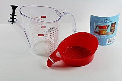 2-Cup Gravy Fat Separator Strainer