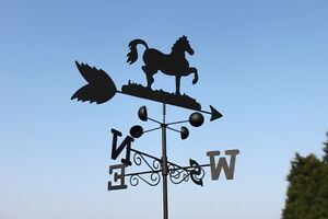 Weathervanes- Steel Horse Weathervane