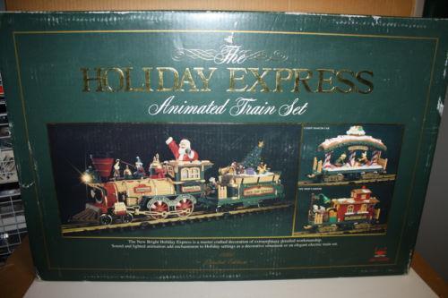 Christmas Tree Electric Train Set