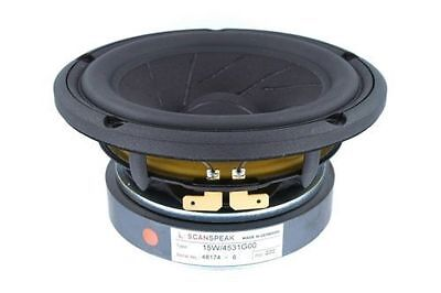 Scan Speak 15W/4531G00 Revelator 5.5″ Woofer, 4 ohm