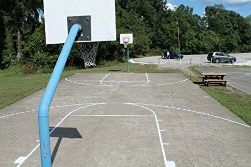 Heavy Duty No Paint Basketball Court Marking Stencil Kit for Outdoor Courts