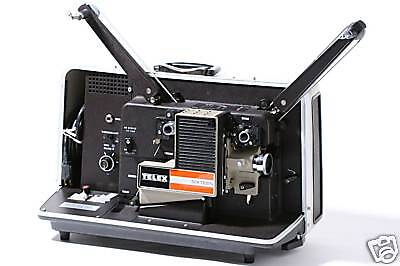 TELEX AS-25A 16mm Sound Projector extras UNUSED MIB NOS! Military Surplus!